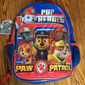 Paw patrol full size backpack!